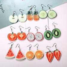 Potato Orange Drop Earring Women Fruit Vegetable Pineapple Dangle Earrings