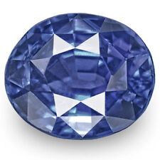 IGI Certified BURMA Blue Sapphire 1.19 Cts Natural Untreated Royal Blue Oval