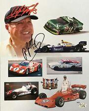 A.J. Foyt Autographed 8x10 Copenhagen Racing Photo