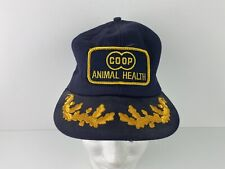 Vintage Coop Animal Health K Products Scrambled Eggs Hat Trucker Cap Snap Back