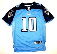 Reebok Authentic NFL Equipment Tennessee Titans Vince Young 10 Jersey L Youth