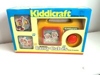 Vtg Fisher Price Kiddicraft Musical Carry Cubes Boxed 1989 Retro Todler Toy (17)