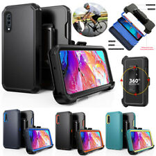 For Samsung Galaxy A70 A70s Shockproof Case Cover Clip Fits Otterbox Defender