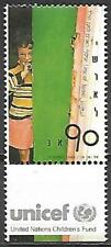 Israel Stamp MNH With Tab UNICEF Year 1989