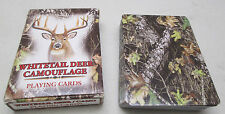 Whitetail Deer Camouflage Deck of Playing Cards Wildlife Art Cynthie Fisher