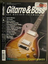 GITARRE & BASS 2006 # 4 - DAVID GILMOUR THE KOOKS TALKING HEADS INCL. DVD