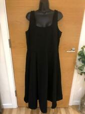 CITY CHIC BLACK SLEEVELESS DRESS SIZE LARGE - UK 20 NEW WITH TAGS