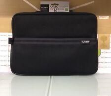 SONY VAIO S-SERIES SLEEVE - SLIP CASE # VGP-AMN1C14/B pc / laptop GENUINE (D)