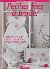 LOISIRS CREATIFS - COUTURE / PETITES FEES A BRODER - CHAMBRE D'ENFANT