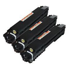 3pk Compatible CF350A Black Toner Cartridge For Color LaserJet MFP M176n M177fw