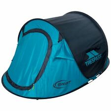 Trespass 2 Man Pop Up Tent For Camping Hiking Festival Swift2