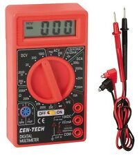 Lot of 20 Digital LCD Multimeter Amps Ohm Volt AC/DC Tester Science Electronics