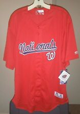 Washington Nationals MLB True Fan Red Nationals 2XL Jersey