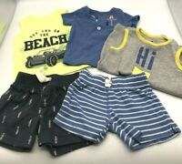 Carter's Gap Baby Boy Spring Summer Clothing Size 3 Months Lot of 5