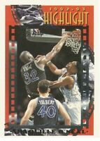 Shaquille Shaq O'Neal Topps Gold Highlights 1993/94 - NBA Basketball Card #3