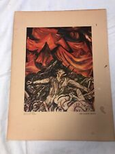 Omniciencia by Jose Clemente Orozco   Giclee Canvas Print Fight For Liberty