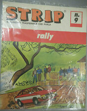 (PRL) GARE CORSE RALLY TRASFERELLO 1970 TOY STRIP FUMETTO TRASFUMETTO COMIC CARS