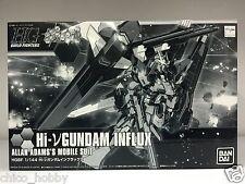 Premium Bandai 0207968 HGBF 1/144 Hi-V Nu Gundam Influx Allan Adam Mobile Suit