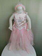Pink Princess Girl's Halloween Dress-Up Costume w/ Tiara Size 5-6 Medium #7161