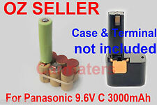 Battery Repacking Pack For Panasonic 9.6V EZ571 EY9080 EY9094 EY9180 EY970 9095