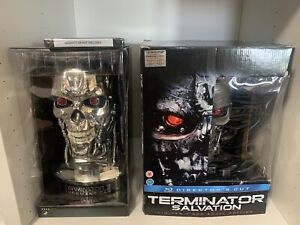 Terminator 2: Judgment Day (Endoskull Limited Edition) AND Salvation Blu-ray