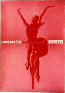 Original vintage poster PIRELLI BICYCLE PNEUMATICS 1963