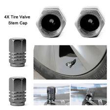 4PCS/SET Aluminum Tire Wheel Rims Stem Air Valve Caps Tyre Cover Car Truck Bike
