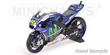 1:12 Minichamps Valentino Rossi Yamaha YZR M1 2015 MotoGP 122153046 NEW