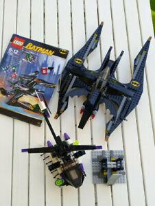 LEGO Batman (7782) Batwing komplett, Bauableitung, Helicopter unvollständig