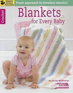 Blankets for Every Baby by Glenda Winkleman. Brand New Paperback