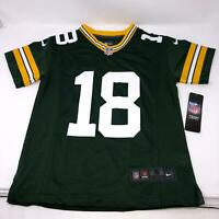 Nike NFL Green Bay Packers Randall Cobb Football Jersey Youth Size XL