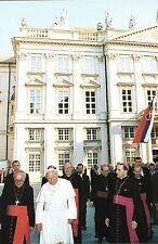 324- CARTE  VATICAN VISITE PAPE JEAN PAUL II  EN SLOVAQUIE