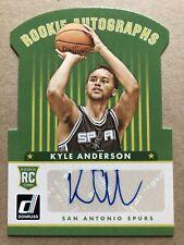 2014-15 Donruss Rookie Autographs #9 Kyle Anderson 02/49!!! Signature Spurs