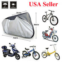 190T Nylon Waterproof Mountain Bike Bicycle Cycle Storage Cover with Buckle