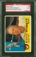 SGC Authentic Autograph of Richie Ashburn HOF of the Chicago Cubs