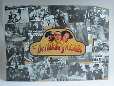 "The Three Stogees 'COLLAGE' Tin Sign - 12½"" x 17¼""  ©1997 Good Condition!"