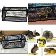 Catch Release Humane Animal Rodent Cage Trap Mice Rats Chipmunks Squirrel Black-