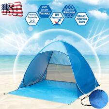 Portable Pop Up Beach Canopy Cabana Family Camping Tent Sunshade Shelter Outdoor