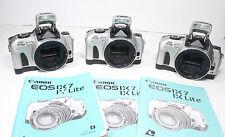 Canon Eos Ix lite Camera body w/Manual film Eos Ix lite Aps Slr