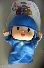 "New Bandai Pocoyo Soft Plush Figure Toy Doll  9"" Hand Puppet"