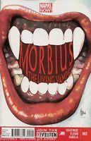 Morbius Living Vampire #2 Comic Book 2013 NOW - Marvel