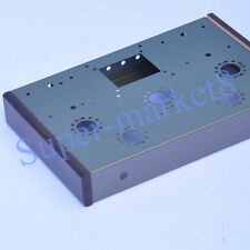 EL34 KT66 6L6 6N8P Tube AMP HIFI Class A Stainless Steel Chassis Box Enclosure