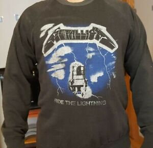 Vintage metallica Ride the Lightning