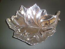 Sand Cast Aluminum Large Leaf Bowl Mexico TamSan Designs Charlotte N Carolina