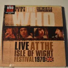 THE WHO - LIVE AT ISLE OF WIGHT 1970 - 2011 LTD. EDITION 3-LP COLOR BOX SET