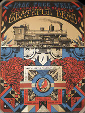 Grateful Dead GD50 Santa Clara CA 2015 Print Poster Train Justin Helton Status