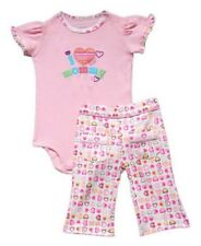 I Love Mommy Carter's Pants Set  Size 12 months