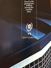 "1990 Cadillac Original Print Ad-8.5 x 10.5 """