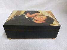 Gone With The Wind Rhett Scarlett O' Hara San Francisco Music Wood Box