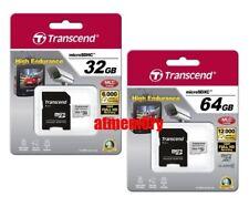 Transcend 32GB 64GB High Endurance Micro SD SDHC SDXC Class 10 MLC